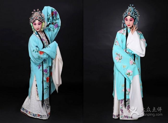 京剧青衣手绘图